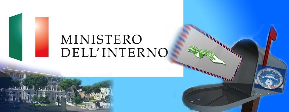 lettera ministero interno