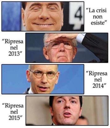 LA RIPRESA NON ESISTE