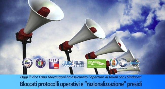comunicato congiunto - bloccati protocolli operativi