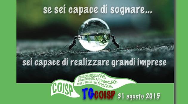 TGCOISP 31 agosto 2015