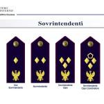distintivi di qualifica POLIZIA DI STATO - SOVRINTENDENTI