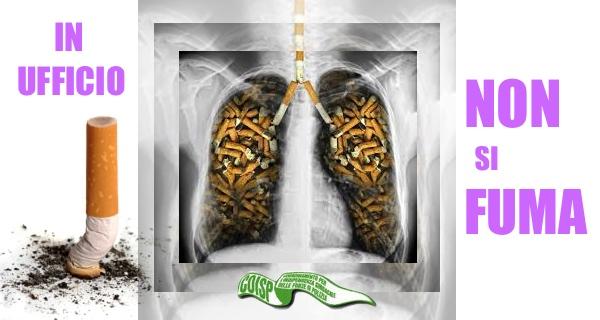 in ufficio non si fuma - coisp