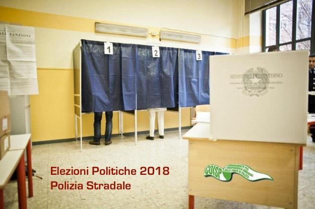COISP ELEZIONI POLIZIA STRADALE
