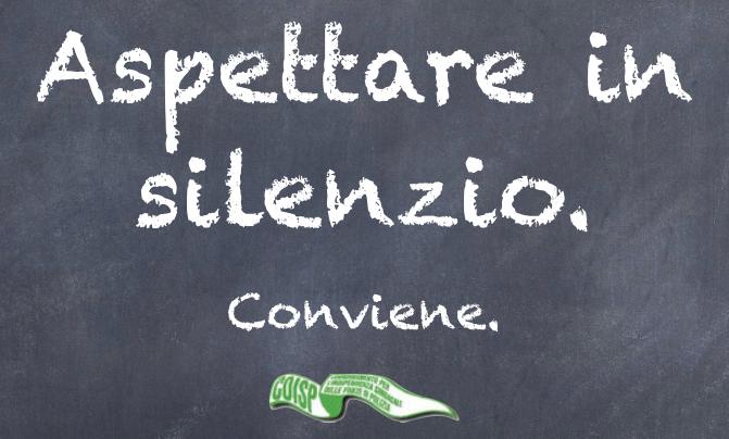 COISP AREZZO, Mensa Caserma Dino Menci - Aspettare in silenzio conviene